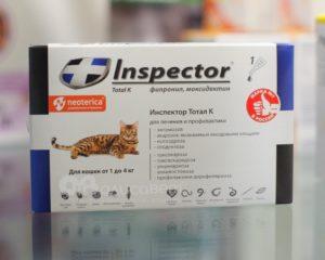 Для кошек капли на холку от глистов